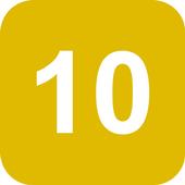 Get 10 icon