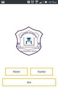 Ambition School App poster