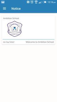 Ambition School App screenshot 1