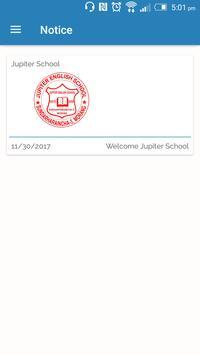 Jupiter School App poster
