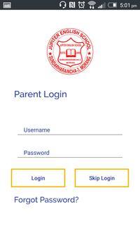 Jupiter School App screenshot 1