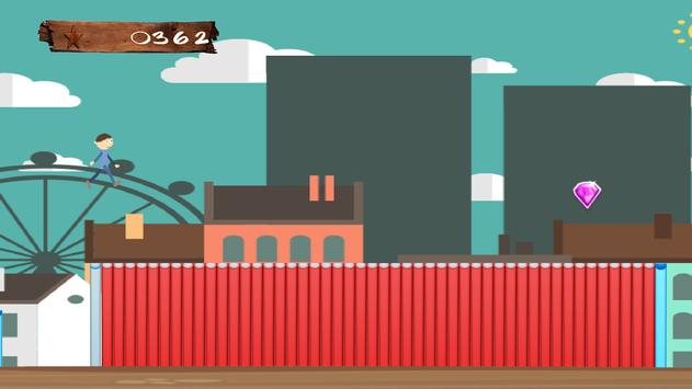 Crazy Man in City: Runner High screenshot 4