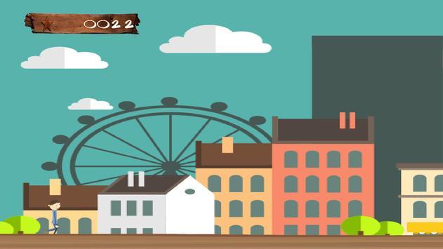 Crazy Man in City: Runner High screenshot 2