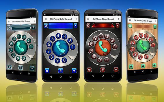 Old Phone Dialer Keypad apk screenshot