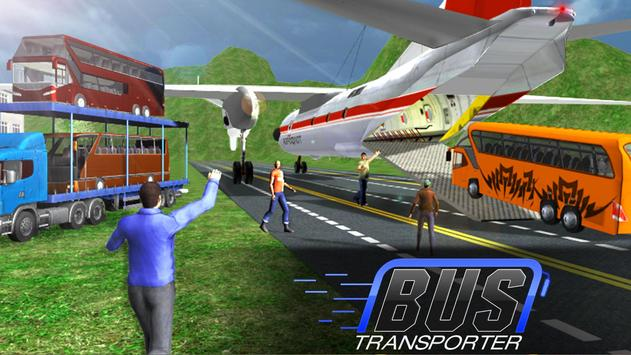 Bus Transporter Truck 2017 - City Bus Simulator apk screenshot