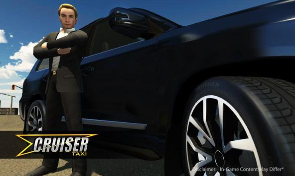 Cruiser Taxi Simulator 2017 apk screenshot