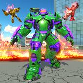 Incredible Monster Hero: Superhero Robot War Game (Unreleased) icon