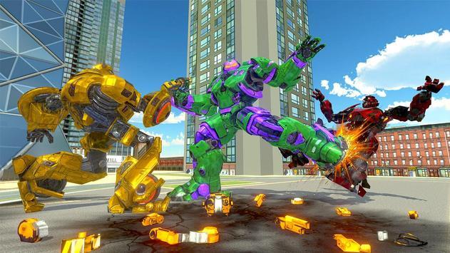 Incredible Monster Hero: Superhero Robot War Game (Unreleased) poster
