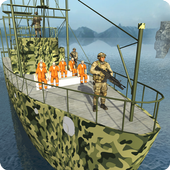 Army Prisoner Transport Ship - Cruise Ship Driving icon