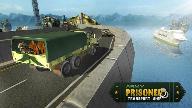 Army Prisoner Transport Ship - Cruise Ship Driving apk screenshot