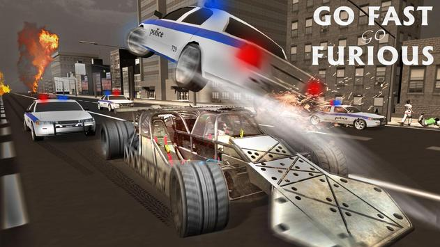 Endless Demolition Ramp Car apk screenshot