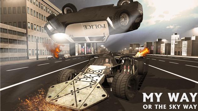 Endless Demolition Ramp Car screenshot 2