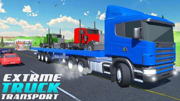 Super Transporter Truck 2017 poster
