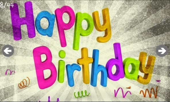 Birthday Wishes screenshot 3