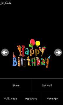 Birthday Wishes screenshot 4