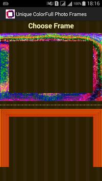 Unique Colorful Photo Frames apk screenshot