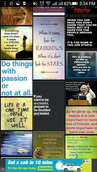 Motivational thoughts screenshot 1