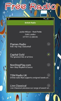 British Radio poster