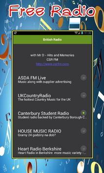 British Radio screenshot 1