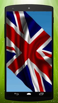 British Flag Live Wallpaper poster
