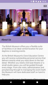Venue Guide The British Museum screenshot 1