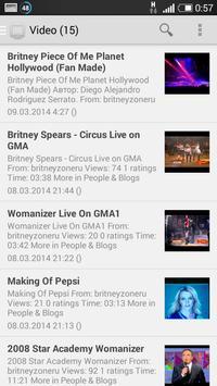BritneyZone.Org apk screenshot