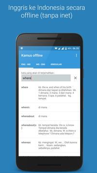 Kamus offline poster