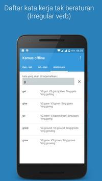 Kamus offline screenshot 2