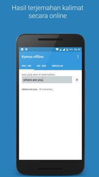 Kamus offline screenshot 5