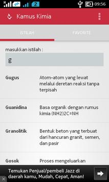Kamus Kimia screenshot 1