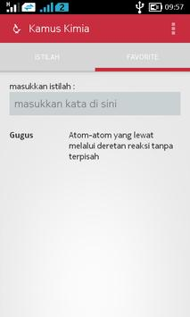Kamus Kimia screenshot 2