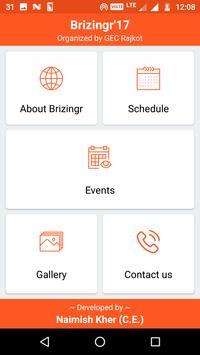 Brizingr17 - GEC Rajkot screenshot 1