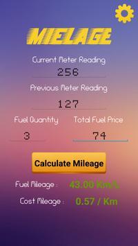 Fuel Mileage Tracker poster