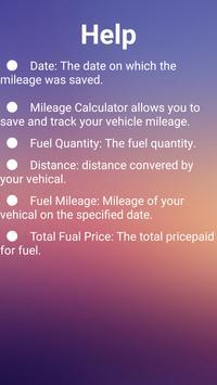 Fuel Mileage Tracker screenshot 2
