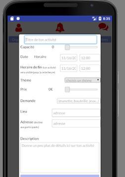 Foster - créateur d'activités en tout genre screenshot 3