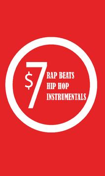 Rap Beats Hip Hop Instrumental Poster