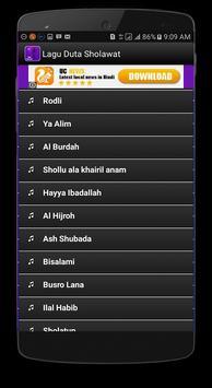 Lagu Duta Sholawat Lengkap apk screenshot