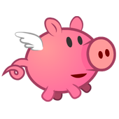 Pig on the Wings icon