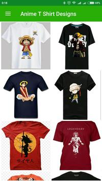 Anime T Shirt Designs screenshot 1