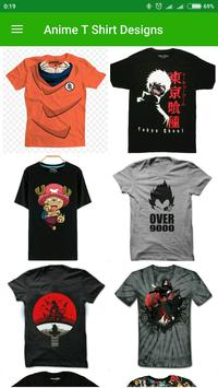 Anime T Shirt Designs screenshot 2