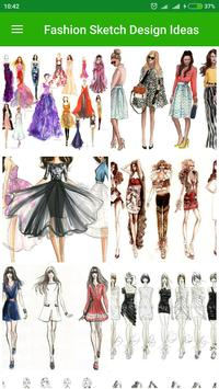 Fashion Sketch Design Ideas poster