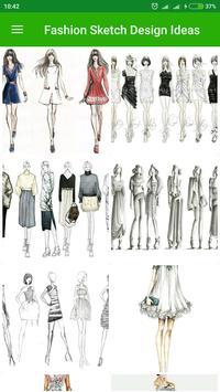Fashion Sketch Design Ideas apk screenshot
