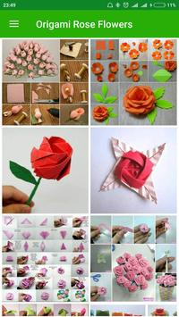 Origami rose flowers apk download free art design app for origami rose flowers apk screenshot mightylinksfo