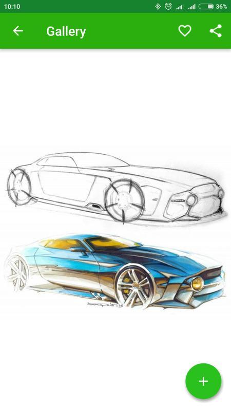 Lernen ein Auto zu zeichnen APK-Download - Kostenlos Lernen APP für ...