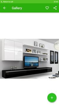 Shelves TV Furniture Design apk screenshot