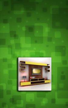 Shelves TV Furniture Design poster