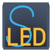 Simple LED icône