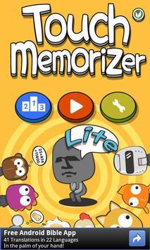 TouchMemorizer Lite poster