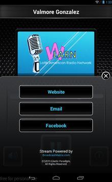 WLARN Radio apk screenshot