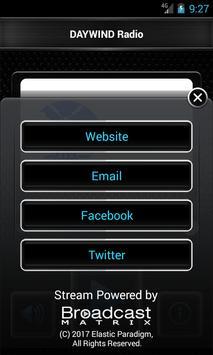 DAYWIND Radio screenshot 1